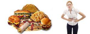 Продукты, провоцирующие тяжесть в желудке