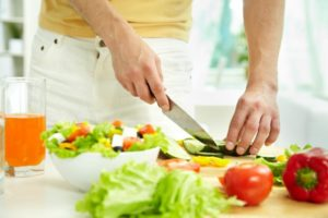 нарезка овощей