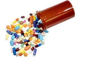 баночка с таблетками