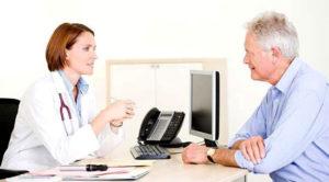 беседа с врачом