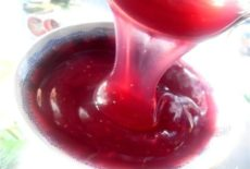 ягодный напиток