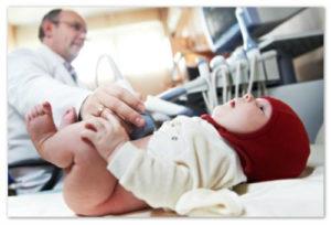 обследование грудничка
